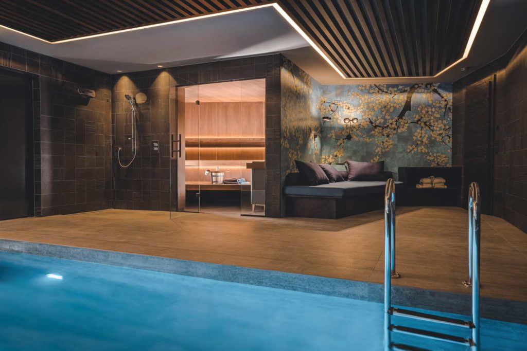 fineheat Sauna Hotel Pool Wellness