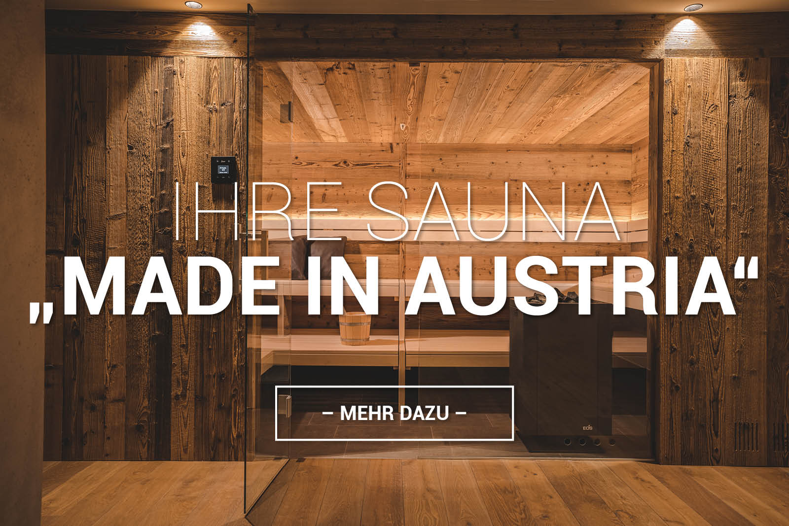 fineheat Sauna Made in Austria