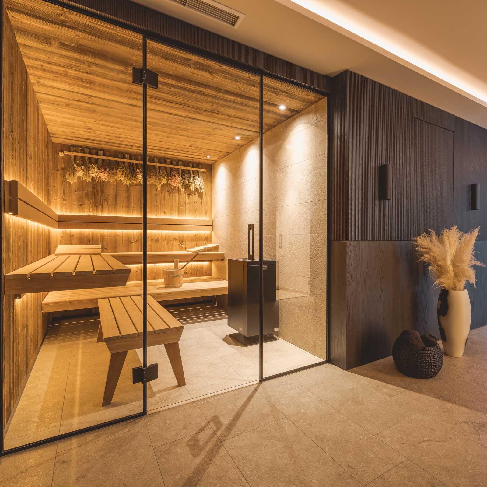fineheat referenz sauna altholz wellness