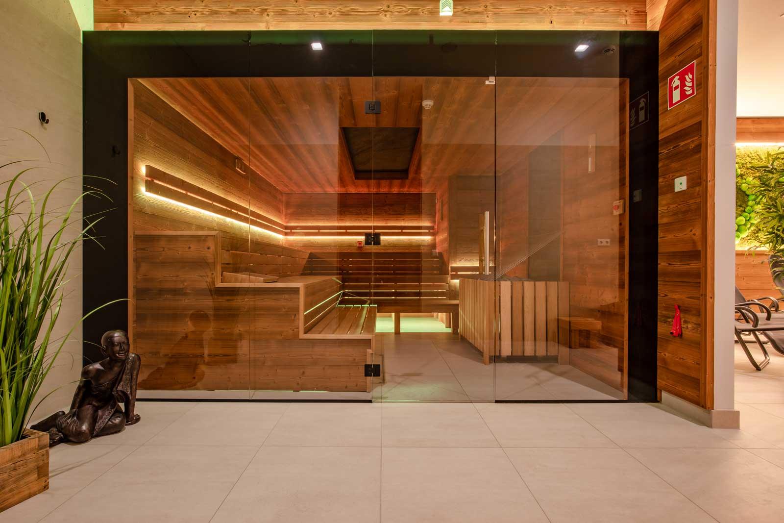 Die richtige Stimmung: So wirken Farben in der Sauna